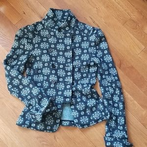 DvF fitted double breasted blazer